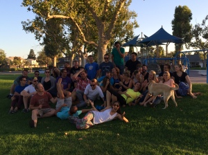 Summers in the park with my LifeGroup community