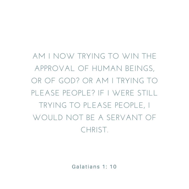Galatians 1:10-12