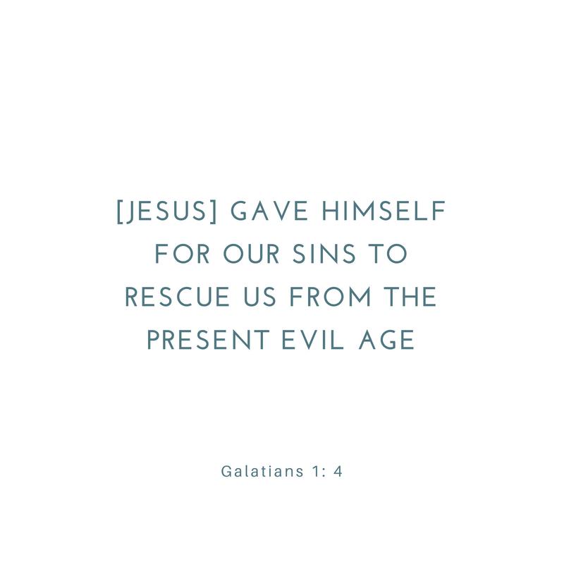 Galatians 1 4