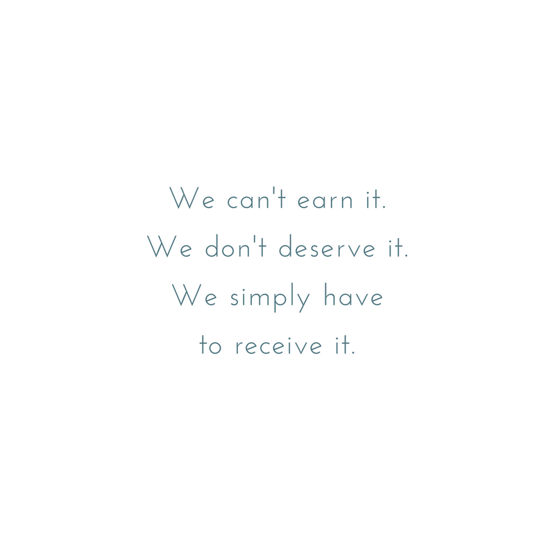 We can't earn it