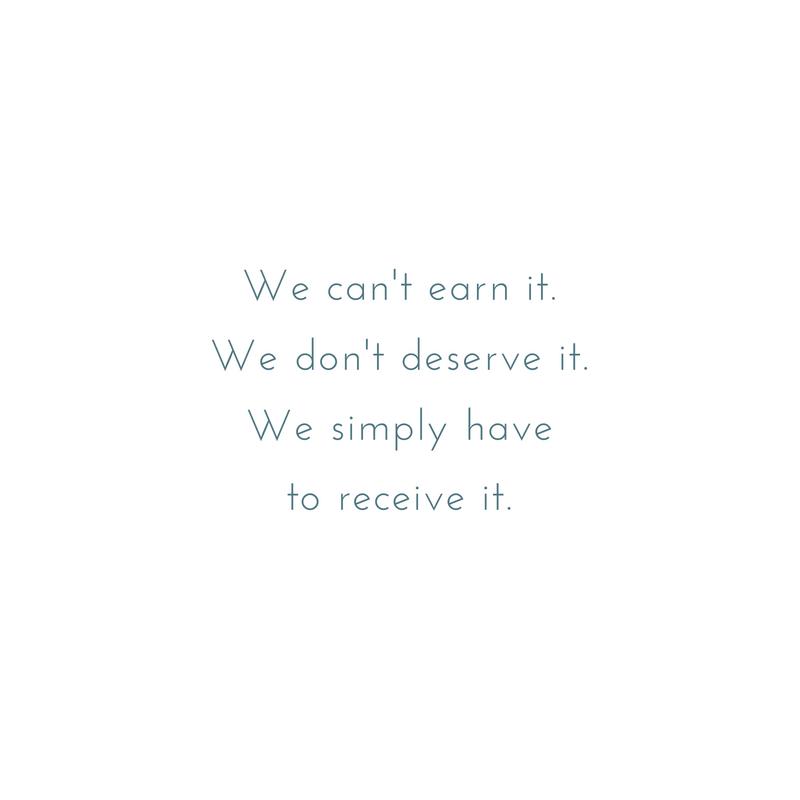 We can't earn it