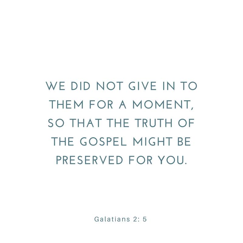 Galatians 2: 1-10